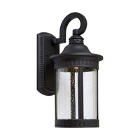 Signature LED 16 inch Black Outdoor Wall Light