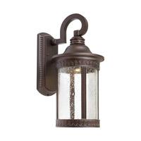 Forte Lighting 17101-32 Signature LED 16 inch Antique Bronze Outdoor Wall Light