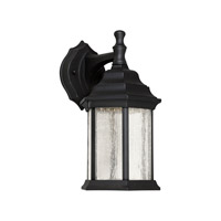 Forte Lighting 17102-04 Signature LED 12 inch Black Outdoor Wall Light