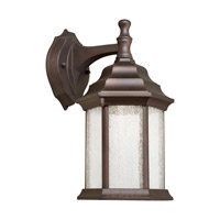 Forte Lighting 17102-32 Signature LED 12 inch Antique Bronze Outdoor Wall Light