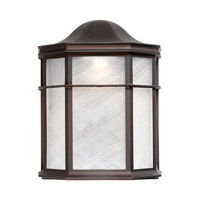 Signature LED 10 inch Antique Bronze Outdoor Wall Light