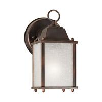 Forte Lighting 1755-01-32 Signature 1 Light 9 inch Antique Bronze Outdoor Wall Light