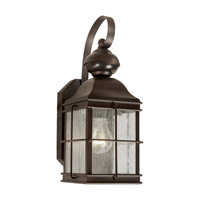 Forte Lighting 18006-01-32 Signature 1 Light 13 inch Antique Bronze Motion Sensor Light