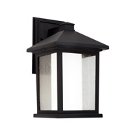 Forte Lighting 1857-01-04 Signature 1 Light 14 inch Black Outdoor Wall Light alternative photo thumbnail
