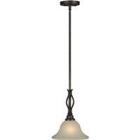 Forte Lighting 2536-01-32 Signature 3 Light 10 inch Antique Bronze Mini Pendant Ceiling Light