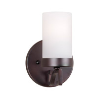 Forte Lighting 2592-01-32 Signature 1 Light 5 inch Antique Bronze Wall Sconce Wall Light