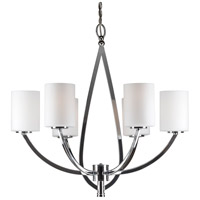 Forte Lighting Chrome Chandeliers