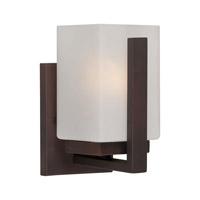 Forte Lighting 5087-01-32 Signature 1 Light 5 inch Antique Bronze Vanity Light Wall Light