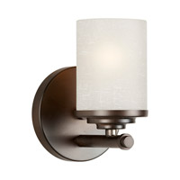 Signature 1 Light 5 inch Antique Bronze Vanity Light Wall Light