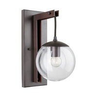 Forte Lighting 5116-01-32 Signature 1 Light 6 inch Antique Bronze Wall Sconce Wall Light