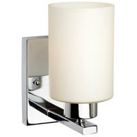 Forte Lighting 5186-01-05 Signature 1 Light 5 inch Chrome Wall Sconce Wall Light