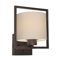 Forte Lighting 5570-01-32 Signature 1 Light 8 inch Antique Bronze Wall Sconce Wall Light