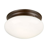 Forte Lighting 6003-02-32 Signature 2 Light 10 inch Antique Bronze Flush Mount Ceiling Light