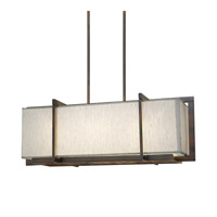 Forte Lighting 7029-03-32 Signature 3 Light 32 inch Antique Bronze Island Pendant Ceiling Light