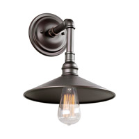 Forte Lighting 7059-01-32 Signature 1 Light 11 inch Antique Bronze Outdoor Wall Light