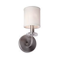 Forte Lighting 7070-01-55 Signature 1 Light 5 inch Brushed Nickel Wall Sconce Wall Light