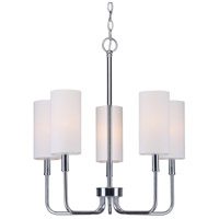 Forte Lighting 7083-05-05 Signature 5 Light 21 inch Chrome Chandelier Ceiling Light