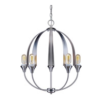 Forte Lighting Brushed Nickel Foyer Pendants