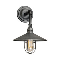 Forte Lighting 7359-01-49 Signature 1 Light 15 inch Industrial Gray Outdoor Wall Light