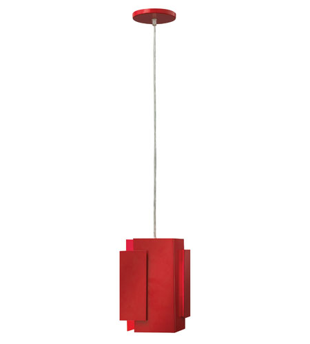 Fredrick Ramond Stratus 1 Light Mini-Pendant in Cardinal FR30407CRD photo