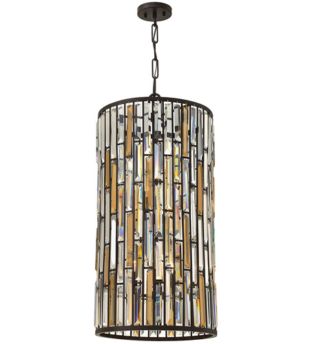 Fredrick Ramond FR33736VBZ Gemma 6 Light 16 inch Vintage Bronze Pendant Ceiling Light photo
