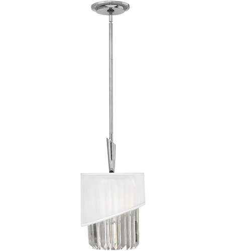 Fredrick Ramond FR34417PNI Gigi 1 Light 10 inch Polished Nickel Pendant Ceiling Light photo