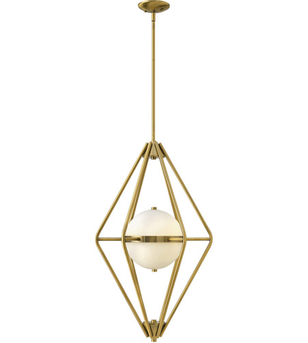 Fredrick Ramond Spectra 2 Light Foyer Light in Retro Brass FR37554RBR