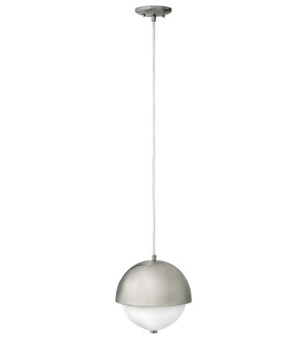 Fredrick Ramond Globe 2 Light Mini-Pendant in Brushed Nickel FR38510BNI photo