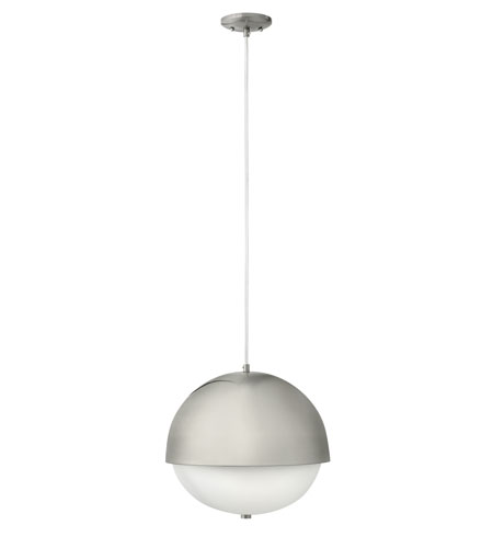 Fredrick Ramond Globe 2 Light Mini-Pendant in Brushed Nickel FR38515BNI photo
