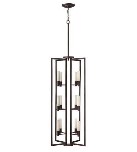 Fredrick Ramond Flair 12 Light Foyer Light in Renaissance Copper FR39449RCO photo