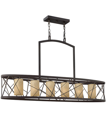 Fredrick Ramond Nest 6 Light Chandelier in Oil Rubbed Bronze FR41616ORB photo