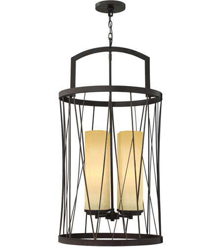 Fredrick Ramond Nest 4 Light Foyer Light in Oil Rubbed Bronze FR41624ORB photo
