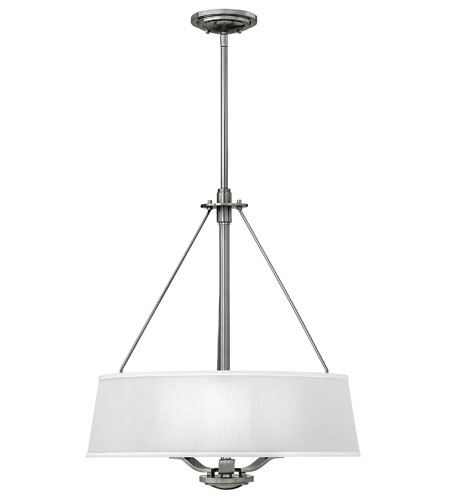 Fredrick Ramond Zephyr 3 Light Chandelier in Brushed Nickel FR41724BNI photo
