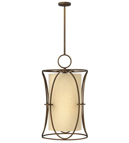 Fredrick Ramond FR42404BRC Pandora 6 Light 18 inch Brushed Cinnamon Chandelier Ceiling Light photo