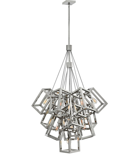 Fredrick Ramond FR42449PNI Ensemble 13 Light 33 inch Polished Nickel Pendant Ceiling Light photo