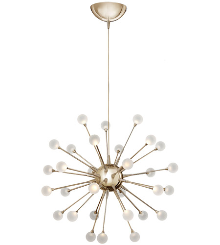 Fredrick Ramond Fr44413pog Impulse Led 24 Inch Polished Gold Chandelier Ceiling Light Single Tier