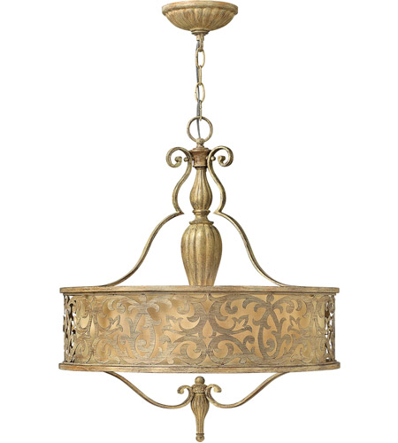 Fredrick Ramond Carabel 3 Light Chandelier in Brushed Champagne FR44623BCH photo