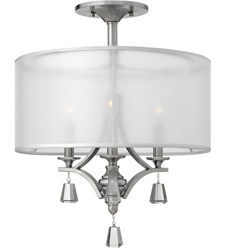 Fredrick Ramond Steel Semi-Flush Mounts