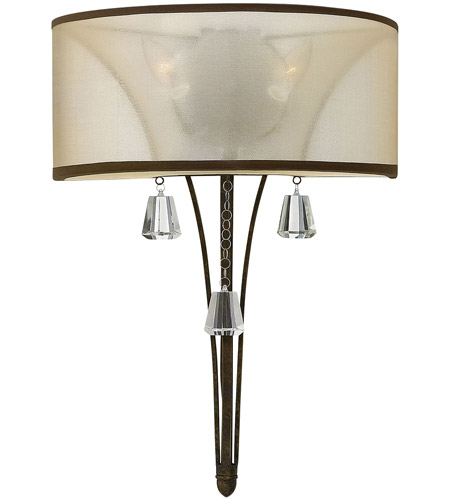 light brushed sconce nickel hinkley colette nbsp hin wall finish tall