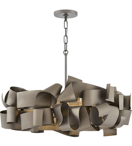 Fredrick Ramond FR48604MMB Delfina 5 Light 26 inch Metallic Matte Bronze Chandelier Ceiling Light, Single Tier photo