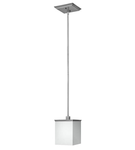 Fredrick Ramond Soho 1 Light Mini-Pendant in Steel Graphite and Chrome FR49357SGC photo