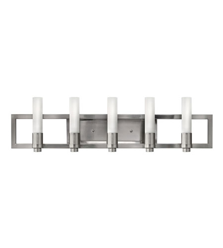 Fredrick Ramond Flair 5 Light Bath in Brushed Nickel FR59075BNI photo