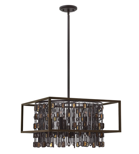 Fredrick Ramond Fr32545abr Mercato 5 Light 20 Inch Anchor Bronze Chandelier Ceiling