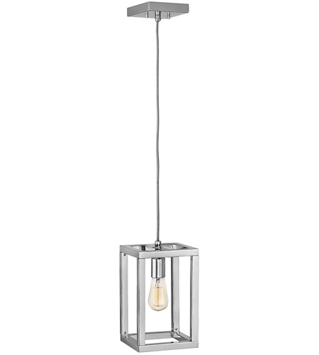 Fredrick Ramond FR42447PNI Ensemble 1 Light 7 inch Polished Nickel Pendant Ceiling Light photo