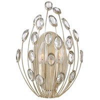 Fredrick Ramond FR31022SLF Tulah 2 Light 8 inch Silver Leaf Sconce Wall Light