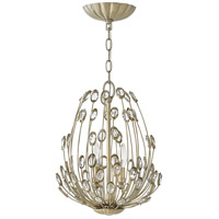 Tulah 2 Light 12 inch Silver Leaf Pendant Ceiling Light