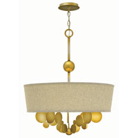Fredrick Ramond Barolo 5 Light Chandelier in Spanish Gold FR31245SPG