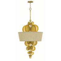 Fredrick Ramond Barolo 5 Light Foyer in Spanish Gold FR31246SPG