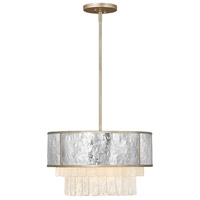 Fredrick Ramond FR32703CPG Reverie 4 Light 20 inch Champagne Gold Chandelier Ceiling Light
