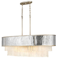 Fredrick Ramond FR32709CPG Reverie 10 Light 43 inch Champagne Gold Linear Chandelier Ceiling Light, Oval